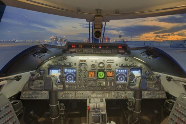 Learjet 60 Cockpit