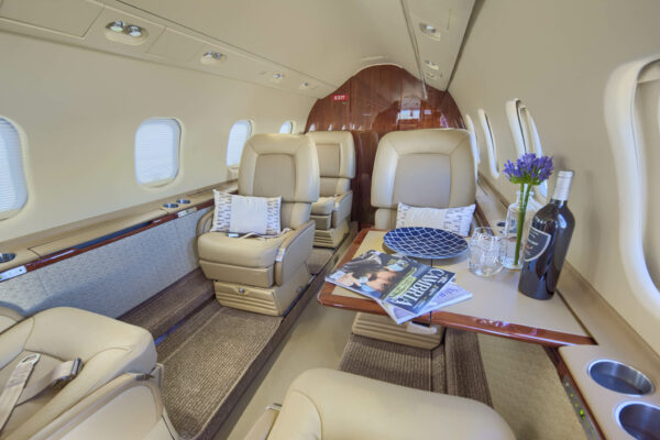 Learjet 60 Interior Seating Arrangement