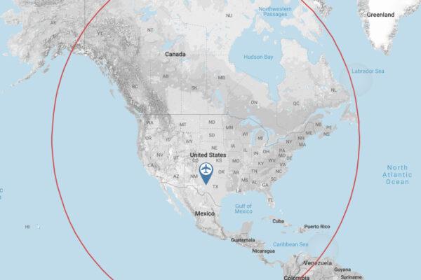 learjet60-range-map