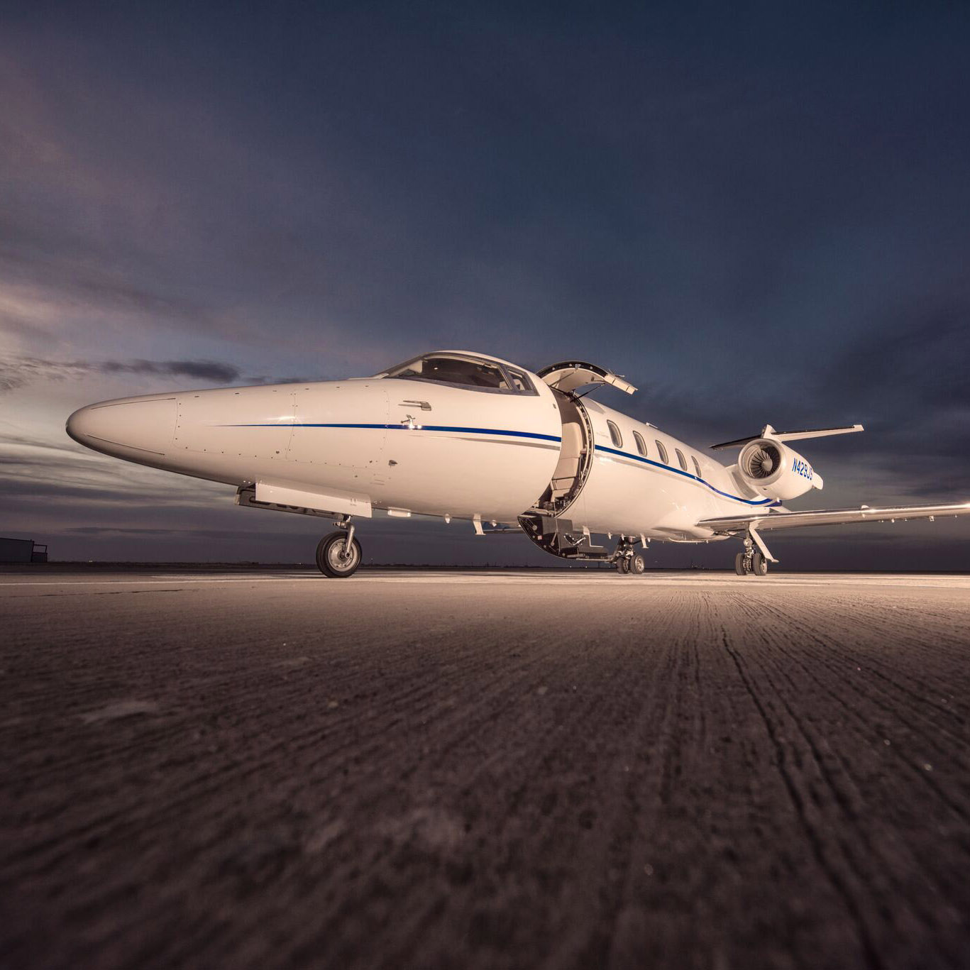 Private Learjet Rental Charter From Midland